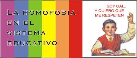 Homofobia entre pupitres