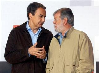 Culebrón del PP, Zapatero e Ibarra